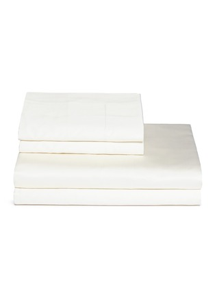 Main View - Click To Enlarge - FRETTE - Ultimate queen size duvet set – Ivory