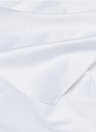 Detail View - Click To Enlarge - FRETTE - Ultimate king size duvet set –White