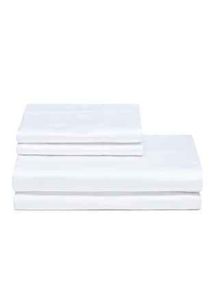 Main View - Click To Enlarge - FRETTE - Ultimate king size duvet set –White
