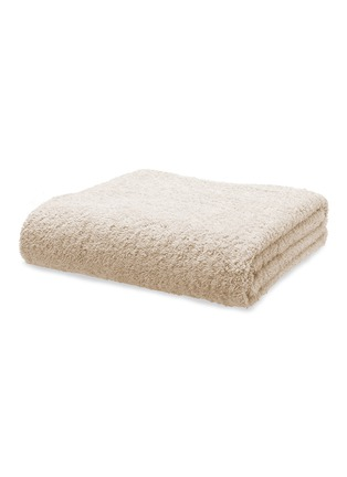Main View - Click To Enlarge - ABYSS - Super pile bath sheet — Ecru