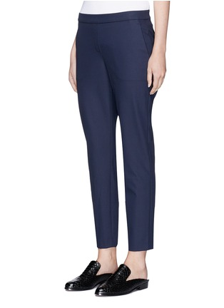 Front View - Click To Enlarge - Theory - 'Thaniel' cropped twill pants