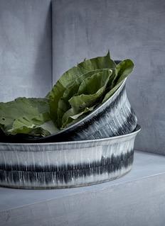 L'Objet Tribal large bowl – Blue
