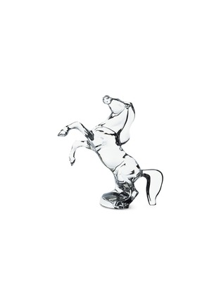Main View - Click To Enlarge - BACCARAT - Rearing Horse sculpture