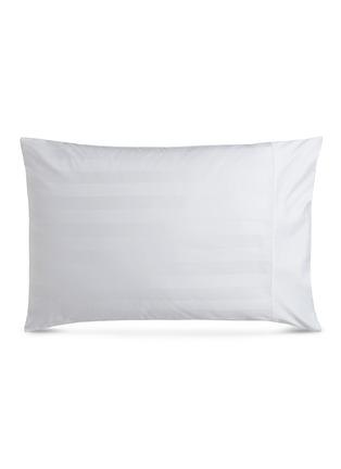 Main View - Click To Enlarge - LANE CRAWFORD - Stripe pillowcase set –Champagne