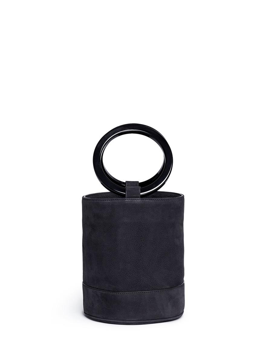 Simon Miller 'Bonsai 20cm' nubuck leather bucket bag