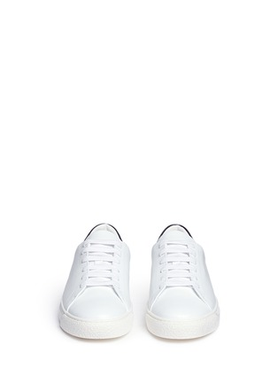 Front View - Click To Enlarge - Anya Hindmarch - 'Wink' embossed leather sneakers