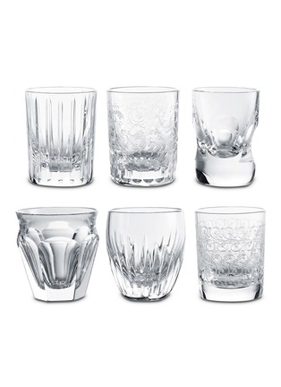 Main View - Click To Enlarge - BACCARAT - Everyday Les Minis shot glass set