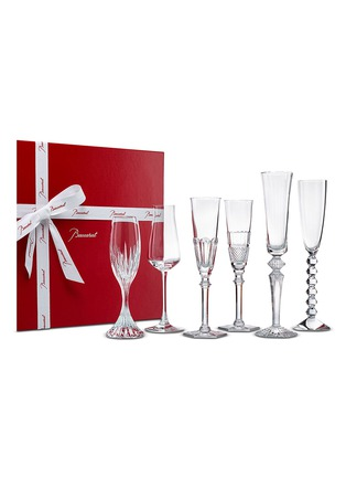 Main View - Click To Enlarge - BACCARAT - Bubble Box champagne glass set
