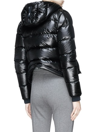 Detail View - Click To Enlarge - Templa - Hooded down puffer jacket