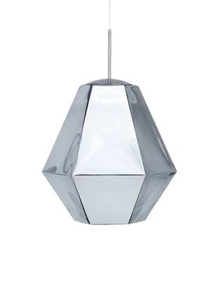 Main View - Click To Enlarge - TOM DIXON - Cut tall pendant light – Chrome