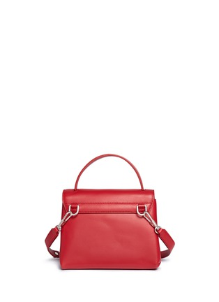 Detail View - Click To Enlarge - 3.1 PHILLIP LIM - 'Alix' paperclip flap mini leather satchel
