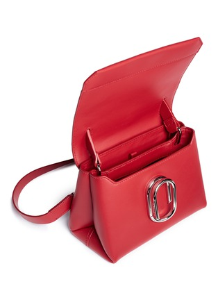 - 3.1 PHILLIP LIM - 'Alix' paperclip flap mini leather satchel