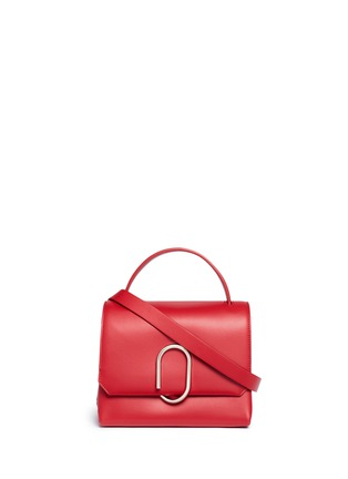 Main View - Click To Enlarge - 3.1 PHILLIP LIM - 'Alix' paperclip flap mini leather satchel