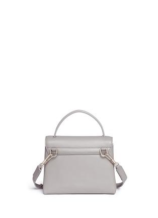 Detail View - Click To Enlarge - 3.1 Phillip Lim - 'Alix' paperclip flap mini leather satchel