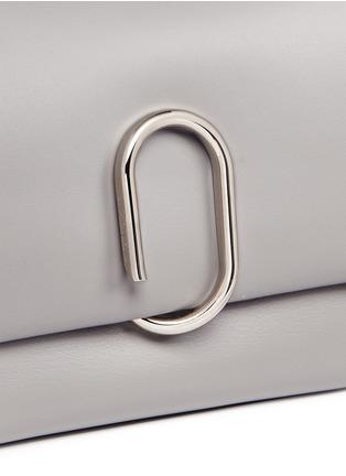 - 3.1 Phillip Lim - 'Alix' paperclip flap mini leather satchel