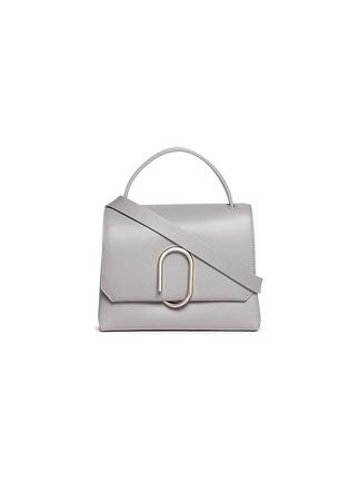 Main View - Click To Enlarge - 3.1 Phillip Lim - 'Alix' paperclip flap mini leather satchel