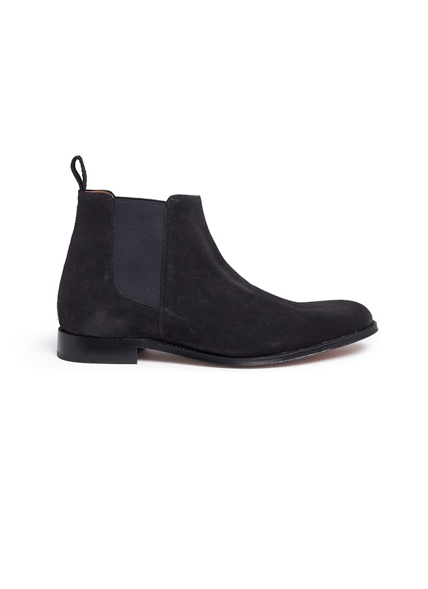 Declan suede Chelsea boots by Grenson