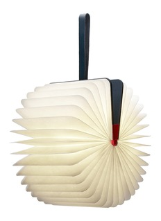 Lumio Lumio folding book lamp – Red/Navy