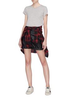 rag & bone/JEAN 'The Tee' Pima cotton slub jersey T-shirt
