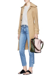 A-Esque 'Basket' aniline leather shoulder bag