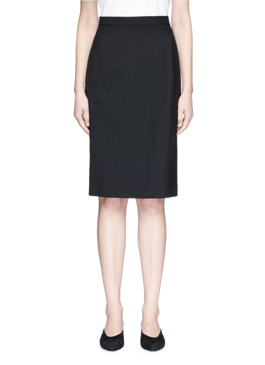 Hemdall B wool skirt by Theory