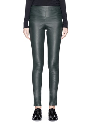 Main View - Click To Enlarge - Theory - 'Adbelle L2' lambskin leather leggings