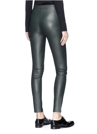 Figure View - Click To Enlarge - Theory - 'Adbelle L2' lambskin leather leggings