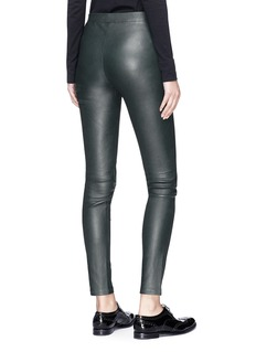Theory 'Adbelle L2' lambskin leather leggings