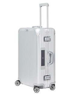 RIMOWA Topas Multiwheel® with electronic tag (Silver, 78-litre)