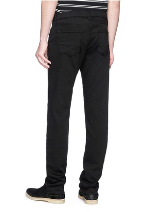 Back View - Click To Enlarge - J BRAND - 'Kane' straight cotton-blend pants