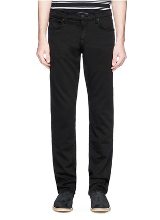 Main View - Click To Enlarge - J BRAND - 'Kane' straight cotton-blend pants