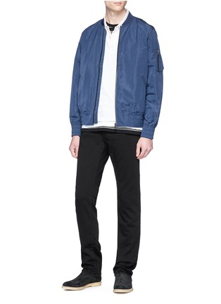 Figure View - Click To Enlarge - J BRAND - 'Kane' straight cotton-blend pants