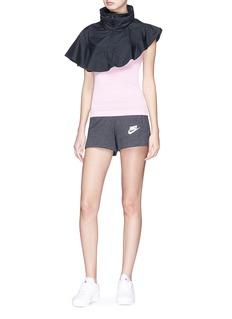 PHVLO Retractable hood rainproof cape