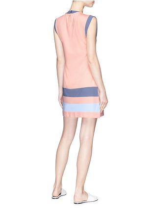 Back View - Click To Enlarge - Flagpole Swim - 'Jane' striped tunic