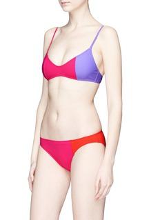 Araks 'Enel' colourblock bikini bottoms