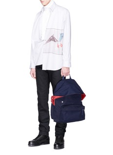 Eastpak x Raf Simons padded Pak'r® canvas backpack