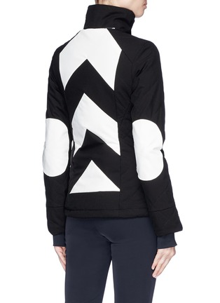 Detail View - Click To Enlarge - Perfect Moment - 'Tignes' colourblock stripe ski jacket