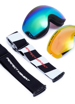 Detail View - Click To Enlarge - PERFECT MOMENT - 'Mountain Mission' ski goggles