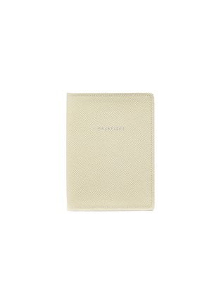 Main View - Click To Enlarge - GLOBE-TROTTER - Passport sleeve – Ivory