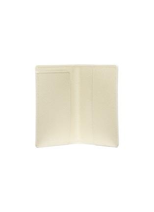 - GLOBE-TROTTER - Passport sleeve – Ivory