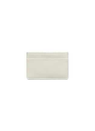 Main View - Click To Enlarge - GLOBE-TROTTER - Jet name card holder – Ivory
