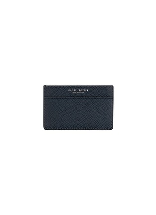 Main View - Click To Enlarge - GLOBE-TROTTER - Jet name card holder – Navy
