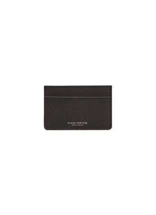 Main View - Click To Enlarge - GLOBE-TROTTER - Jet name card holder – Graphite