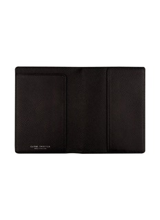 Globe-Trotter Jet passport sleeve – Black