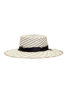 Sensi Studio Feather panama straw hat