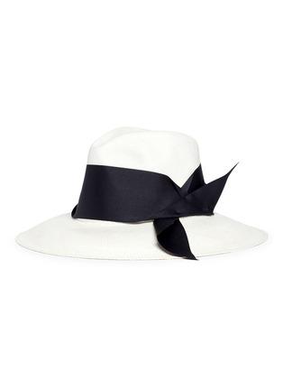 Figure View - Click To Enlarge - Sensi Studio - Ribbon panama straw hat