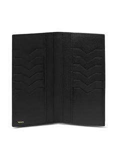 Valextra Leather vertical wallet – Black
