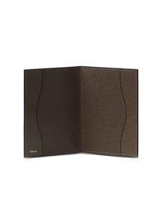 Valextra Leather passport holder – Brown