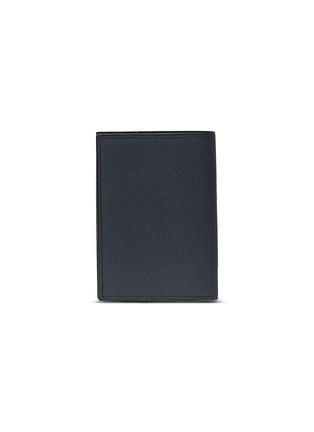 Main View - Click To Enlarge - VALEXTRA - Leather passport holder –Dark Blue