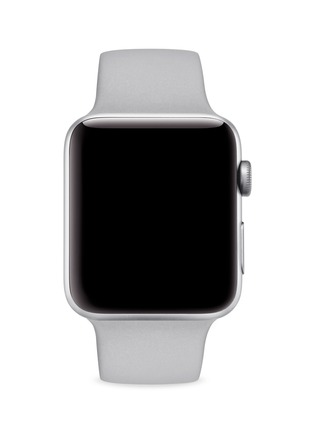 Main View - Click To Enlarge - Apple - Apple Watch Series 3 GPS 42mm – Silver Aluminium/Fog